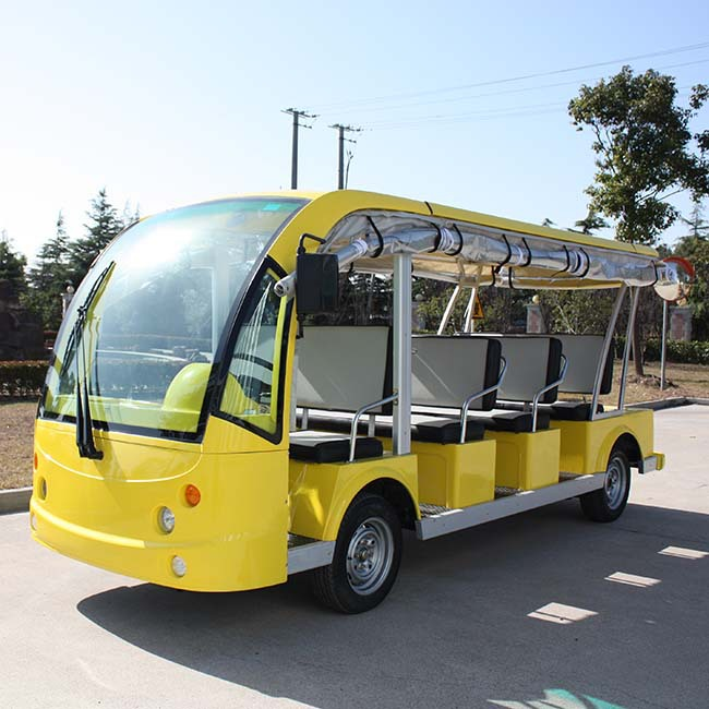 China OEM CE approval 11 Seats electric sightseeing car DN-11