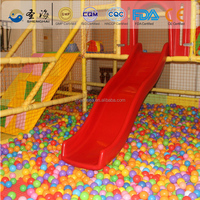 LDPE 75mm plastic pool ball for ball pit