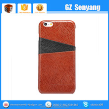 2016 New Genuine Leather Back Cover Case for iphone 6s