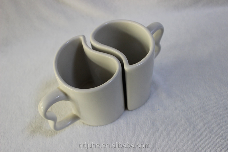 11OZ sublimation Couples Mugs/Promotional mug/Advertising cup