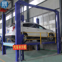 Car workshop lifting equipment electric used 4 post car lift for sale