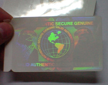 hot sale PVC scratch prepaid hologram overlay phone card in lidun brand