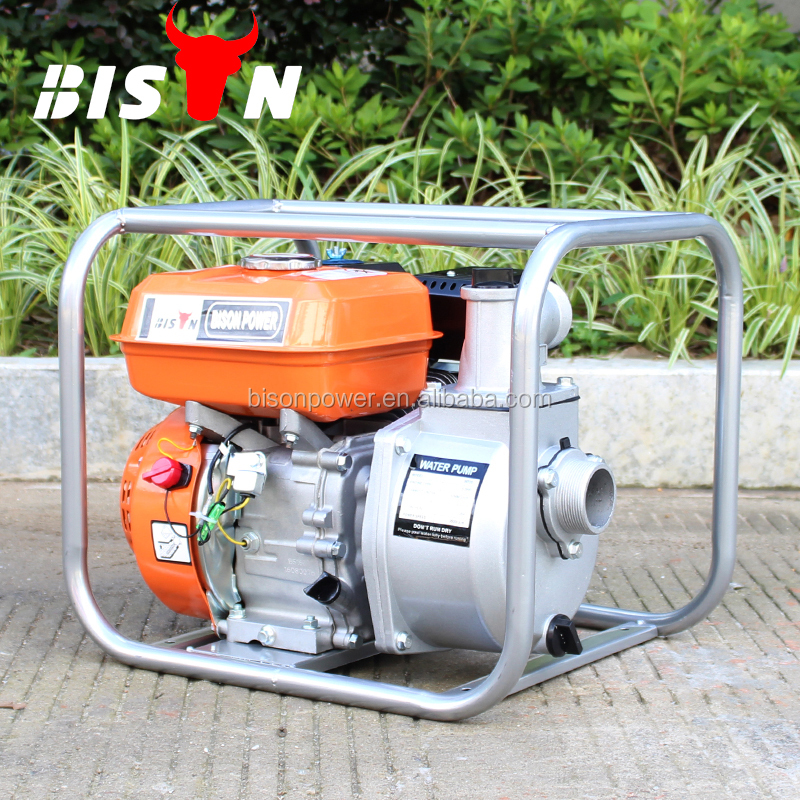 BISON China Taizhou 2 Inch Low Pressure Centrifugal Piston Pump 50mm Gasoline Water Pump