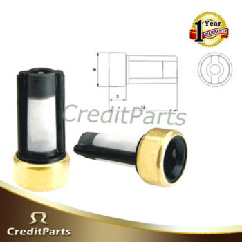 CreditParts universal type fuel injector filter for injector micro filter ASNU03 6*3*12mm