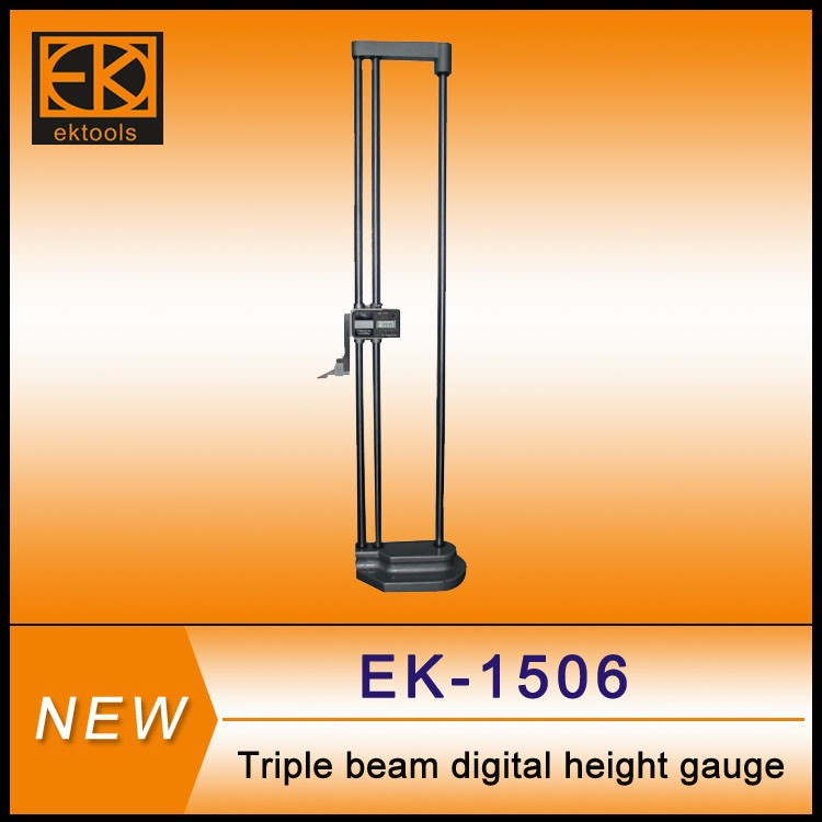 3-beam Digit and dial height measuring tool