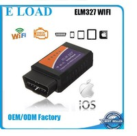 DHL free shipping Works on Iphone and Android ELM327 WIFI Scanner OBDII OBD2 Auto Diagnostic Tool elm327 WIFI with best quality