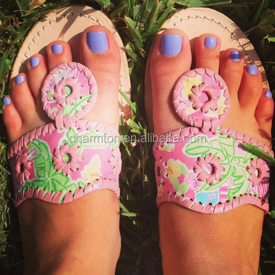 New Arrival Lilly Pulitzer inspired Stitch Sandals