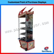 High quality fashion countertop wood sunglass display case