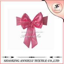 Wholesale pink spandex wedding chair cover bow