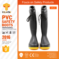 Good Quality Black Cotton Safety Boots