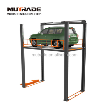 4 Post Customized Car Elevator for Parking Garage