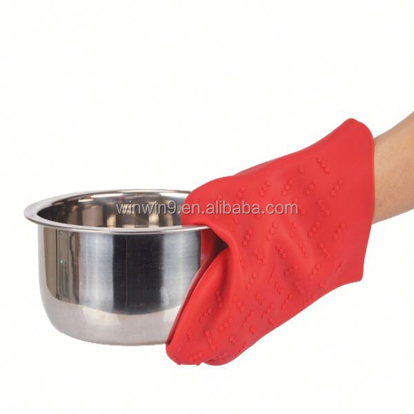 silicone oven mitts/silicone pot holder/hand gloves rubber silicone