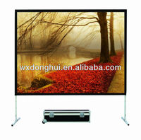 rear projection film/fast fold screen/projector screen
