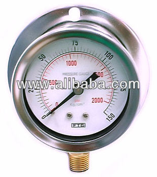 Pressure Gauges, Liquid-filled Pressure Gauges, Digital Pressure Gauges