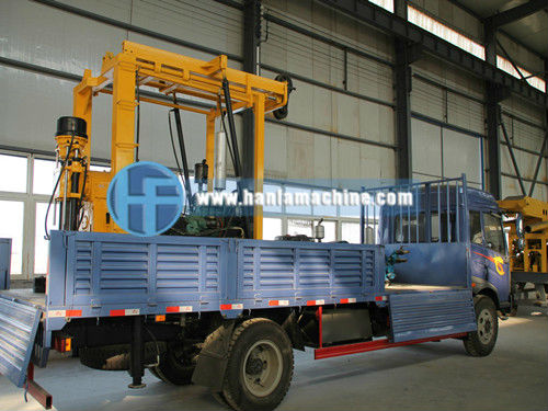 HFT200 Truck Mounted Bore Hole Drilling Machine