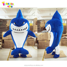 Lovely Animal Shaped Shark Mascot Costumes For Adult