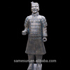 Meilun Art Crafts Chinese Ancient Qin's Terra Cotta Warriors Garden Statue Decoration Antique Sculpture Clay Army Manufacturer