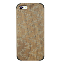 Be Focus!Special Walnut Wood Cover For iphone 5c Fashion Case