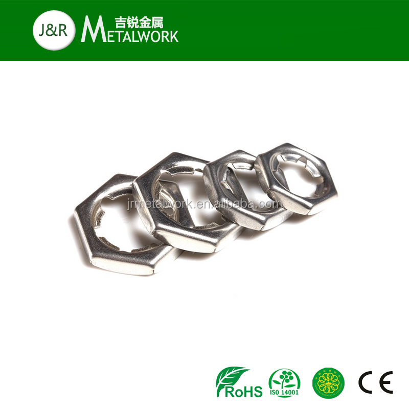 A2 A4 A2-70 A2-80 A4-80 A4-70 SS304 SS316 Stainless Steel Self Locking Counter Hex Nut DIN7967