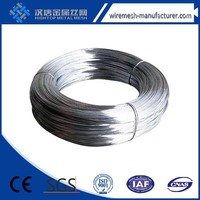 BWG18 galvanized wire for grape trellis&staples
