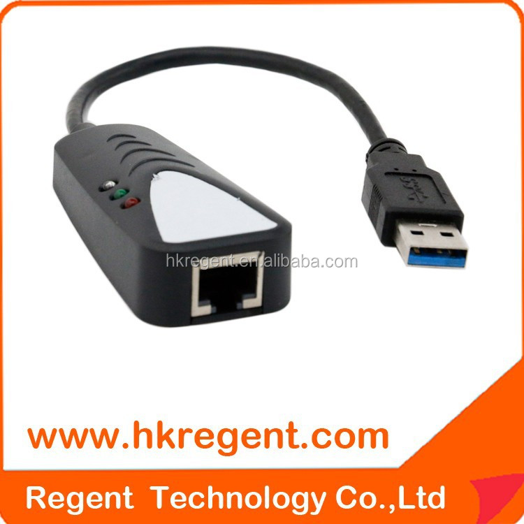 Hot sell 3.0 usb lan rj45 ethernet 10/100 /1000mbps network adapter for pc