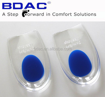 adhesive pu gel heel pads heel cushioned pads gel heel cushion