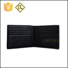 New men's black genuine cow leather bifold luxury wallet,classical design wallet with 13 credit card slots
