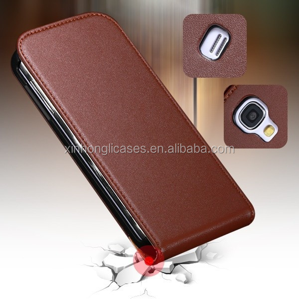 Luxury Retro Real Genuine Leather Case for Samsung Galaxy S4 Mini I9190,Genuine Leather Case for Samsung