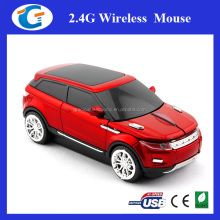 Wireless Cordless Mini Car Shaped Computer Mouse With USB Nano Receiver
