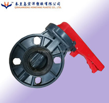 Manual Wafer type Irrigation Plastic PVC Butterfly Valve dn100