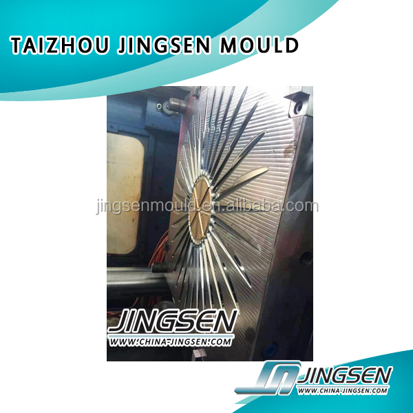 injection plastic knife and fork mould buyer taizhou mould factory
