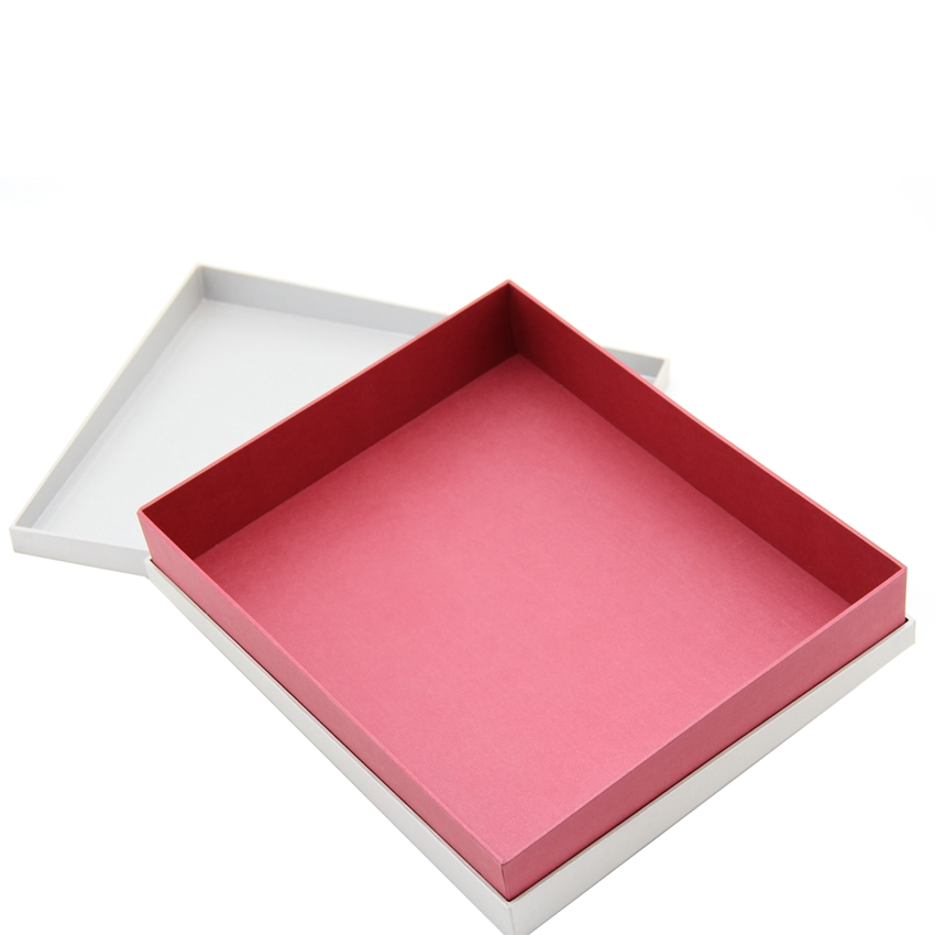 Good looking white paper dress packaging box