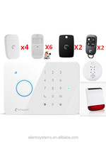 DHL Shipping English/French/German/Spanish S3B GSM Alarm system home office Safety Guard Alarm System with Android/IOS App