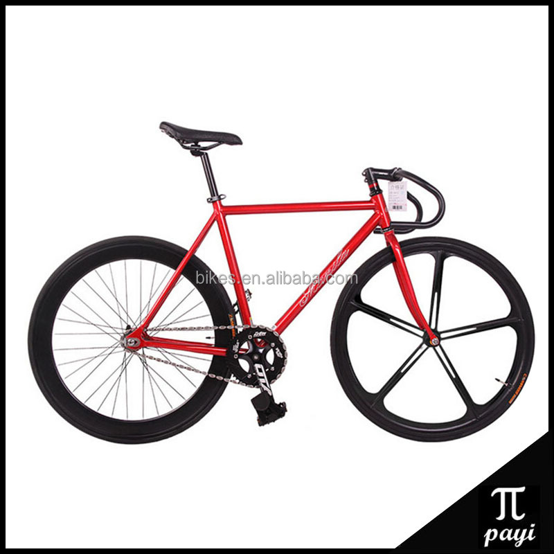 NEW 700C 70mm Magnesium Alloy 5 Spoke Wheel Rim Bicicleta Fixed Gear Urban Bisiklet Track Bike <strong>Cycle</strong> Fixie gear Bike