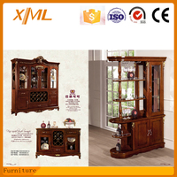 american design living room furniture antique partition cabinet,wine cabinet