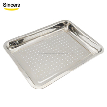Restaurant Stainless Steel Serving Tray/Plate/Dish Cheap Price Factory