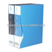 A4 transparent frosted PP display book 30pages A4 high quality fruit color cover raw pp transparent clear book half A4 size