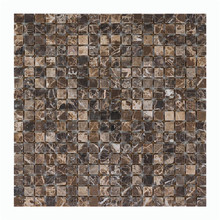 Mixed Color 3D Stone Mosaic Tile for Bathroom,Shower,Floor and Wall,Backsplash