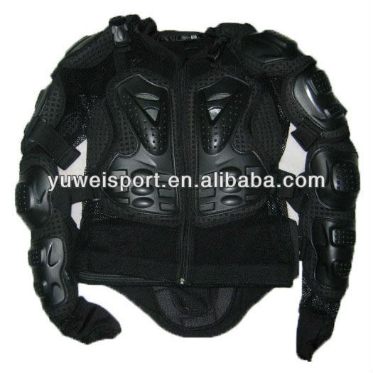 High material PP Motorbike Armor Jacket Popular Motorcycle Jacket Full Body Armor Gears