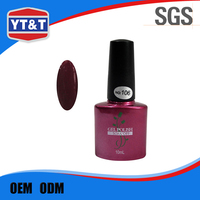 OEM Offered Producer Customized Logo Art Nail Polish Color Change