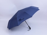 23'' X10panels auto open and close windproof 3 fold dollar umbrella