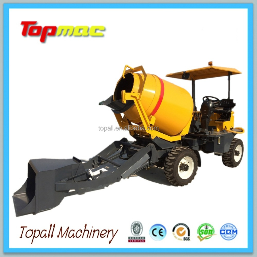 Hot Sell Topall Brand SD1000M Self Loading Concrete Mixer
