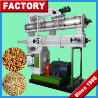 Feed Mill Pellet Mill / CE Certification Stainless Steel Ring Die Small Feed Pelletizer Machine _(+86)15837153047