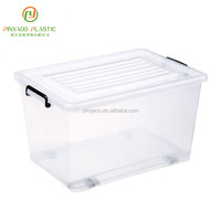 Factory Direct Sale Various Color High Quality Stackable New Product Waterproof Plastic Storage Containers