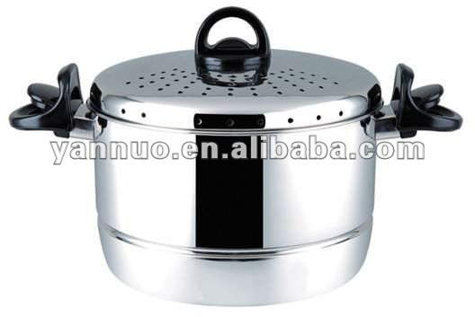 Stainless steel pasta pot with strainer,pasta pot