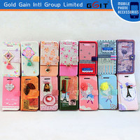 Stylish Leather Wallet Flip Case Cover For Samsung S4 i9500, For Galaxy S4 SIV i9500 Case Cover