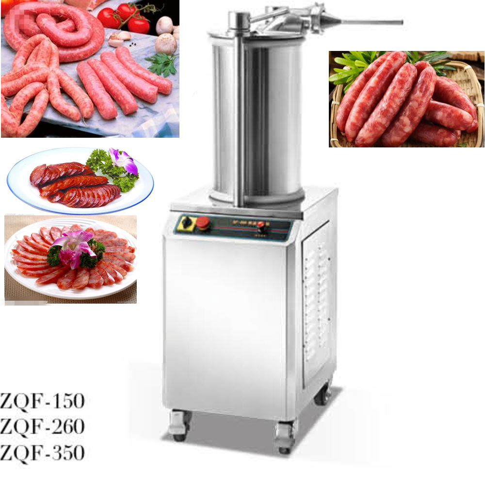 Hot sale Commercial meat sausage processing machine /hydraulic sausage stuffer(ZQF-150)