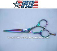 hair cutting scissors barber scissors colourful scissors