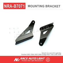 "Bumper 54"" LED Light Bar Mounting Brackets for Dodge Ram 1500 2500"