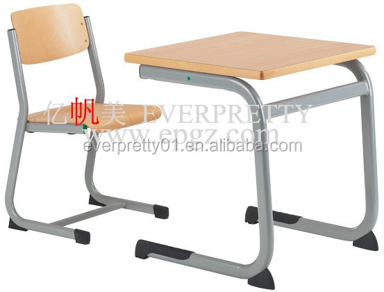Cheap HPL Classroom Table Bench Chair